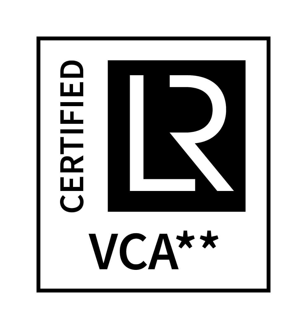 VCA CERTIFIED positive