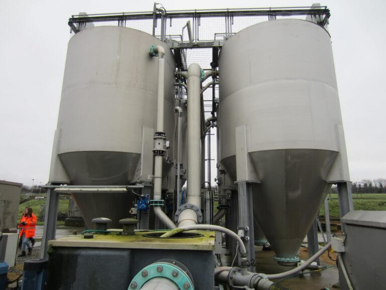 UK experiences with continuously moving bed aerated bioreactors