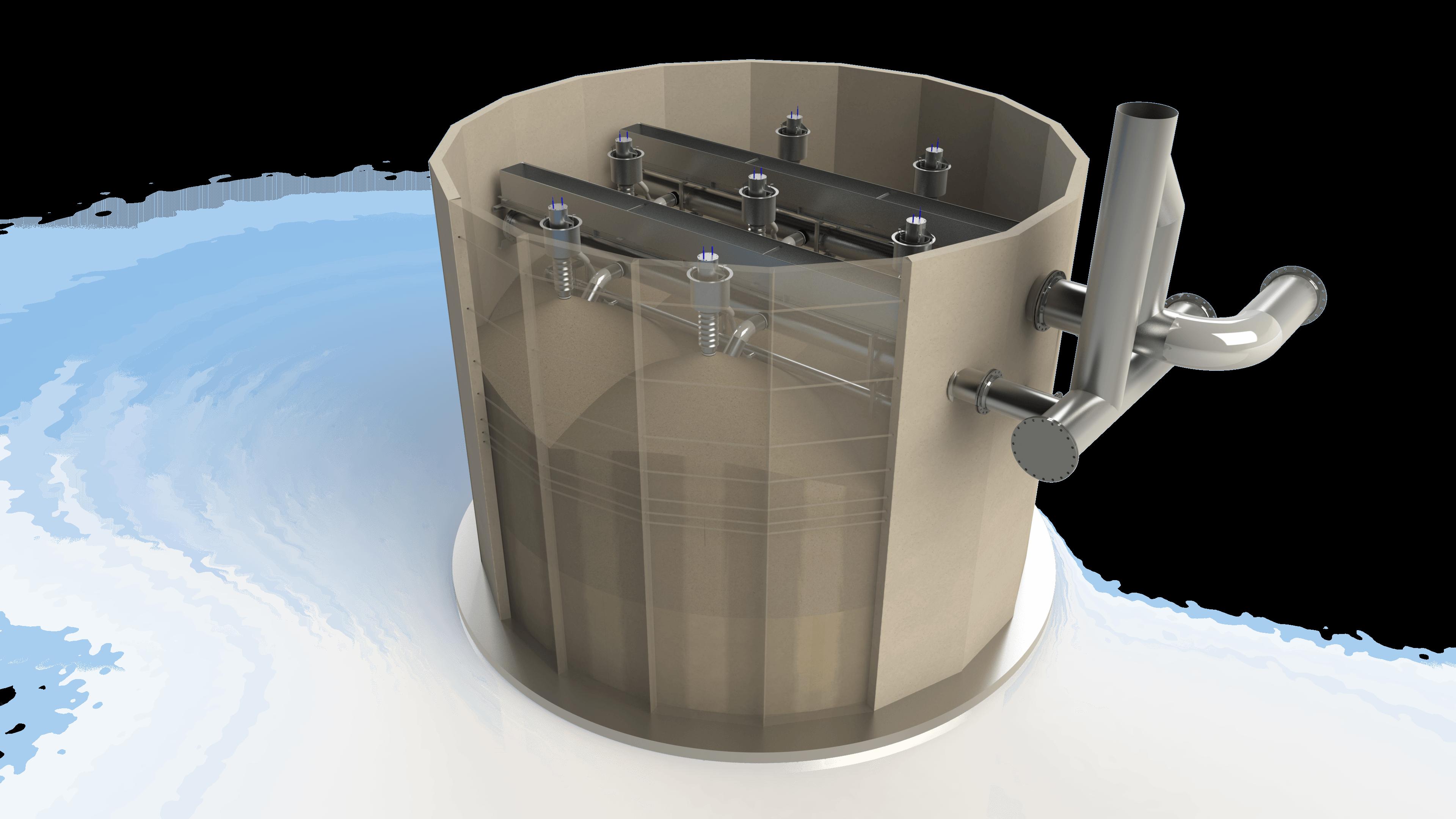 Large scale modular filter design