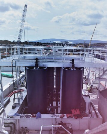 Granular activated Carbon filtration system