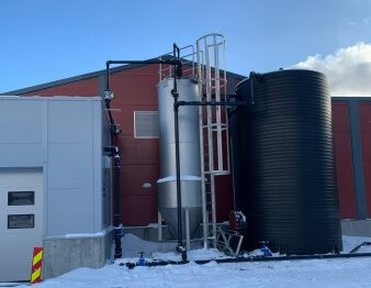 Surface water treatment plant