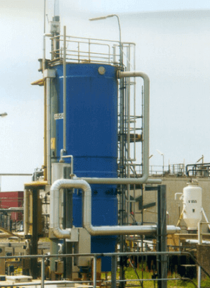 Full scale recovery plant