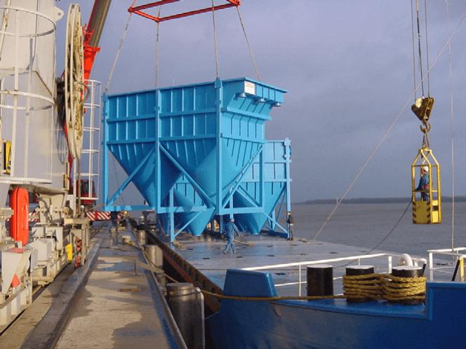 Coagulatie - hydraulische flocculatie - gekantelde plaat scheiding van oppervlaktewater voor proceswater productie