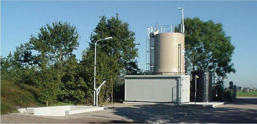 WRRF Kaatsheuvel, Netherlands Efteling, water authority Brabantse Delta